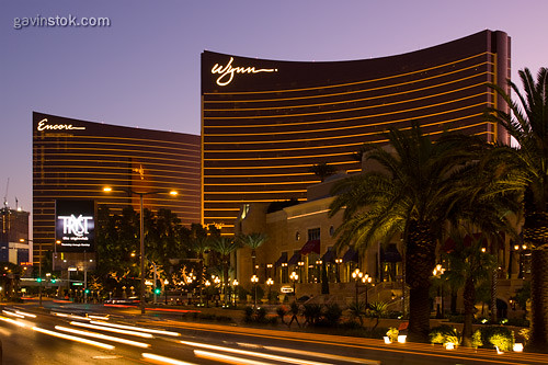 Las Vegas Wynn And Encore At Dawn The Wynn Hotel And