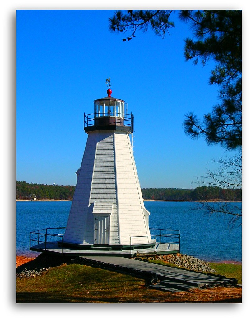 "Children's Harbor ""Plymoth"" Lighthouse 