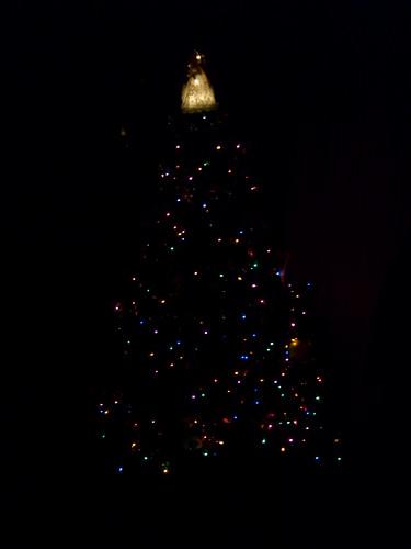 Christmas Tree in the Dark | BlackenedBoy | Flickr