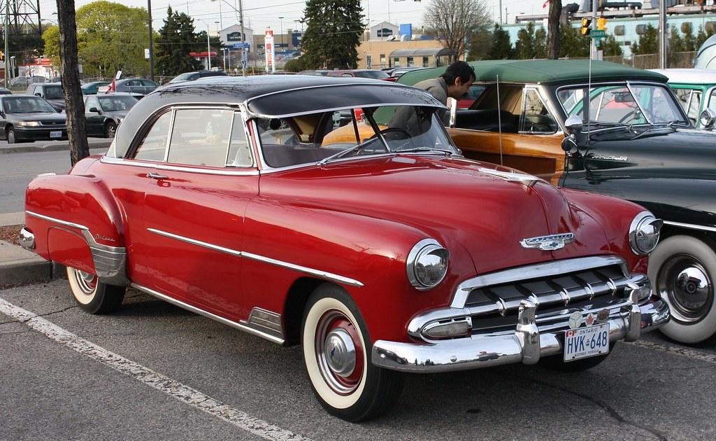 1952 Chevrolet Deluxe Styleline Bel Air Hardtop Richard