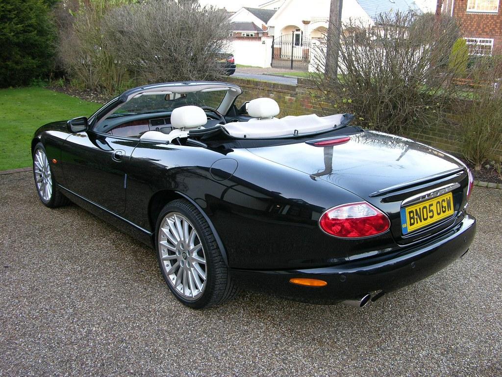 jaguar xk8 convertible the car spy flickr. Black Bedroom Furniture Sets. Home Design Ideas