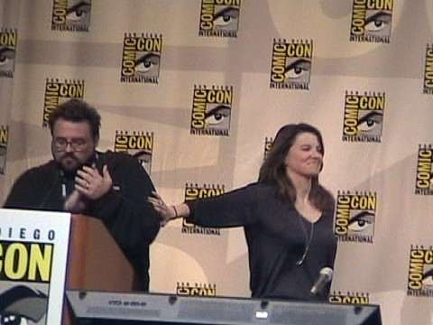 Momentum >> Kevin Smith and Lucy Lawless | Kevin Smith and Lucy Lawless … | Flickr