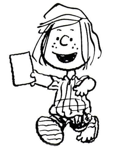how to draw peppermint patty