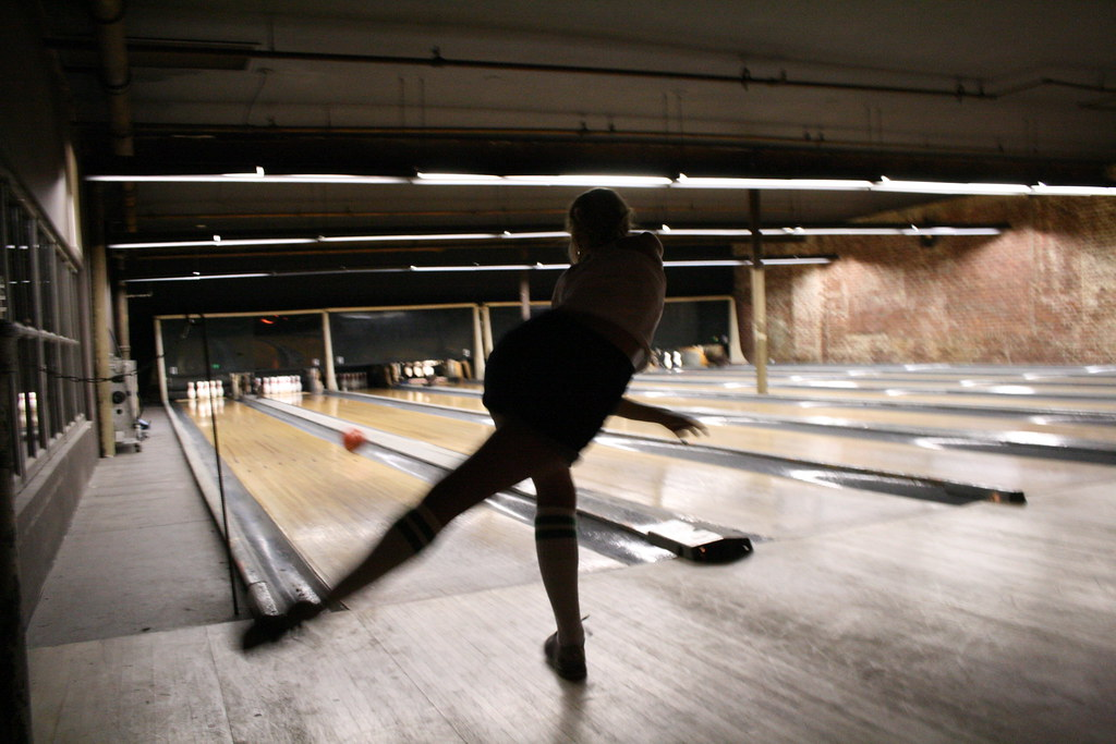 The Gutter Bowling Alley Williamsburg Seanwtice Flickr