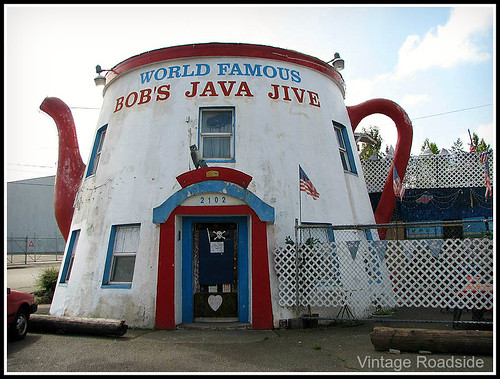 Java Jive Teapot - Tacoma, Washington | by Vintage Roadside
