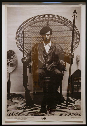 Huey P. Newton, Minister of Defence | by cliff1066™