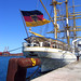 Gorch Fock. German training tall ship