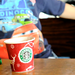 Nikon D90 DSLR Sample video test - Kids drinking coffee