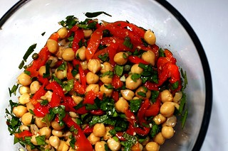 chickpea salad | by smitten kitchen
