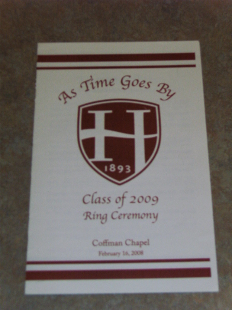 Hood College Ring Ceremony Juniors Recieve Their Class Rin Flickr