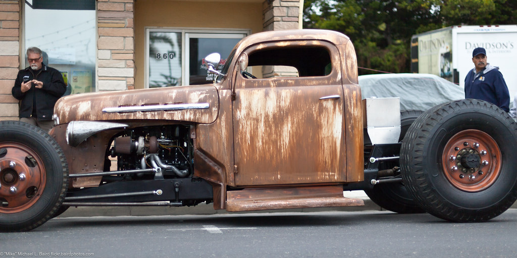 My Favorite Car Of The Show Was This Rat Rod With Truck Ti