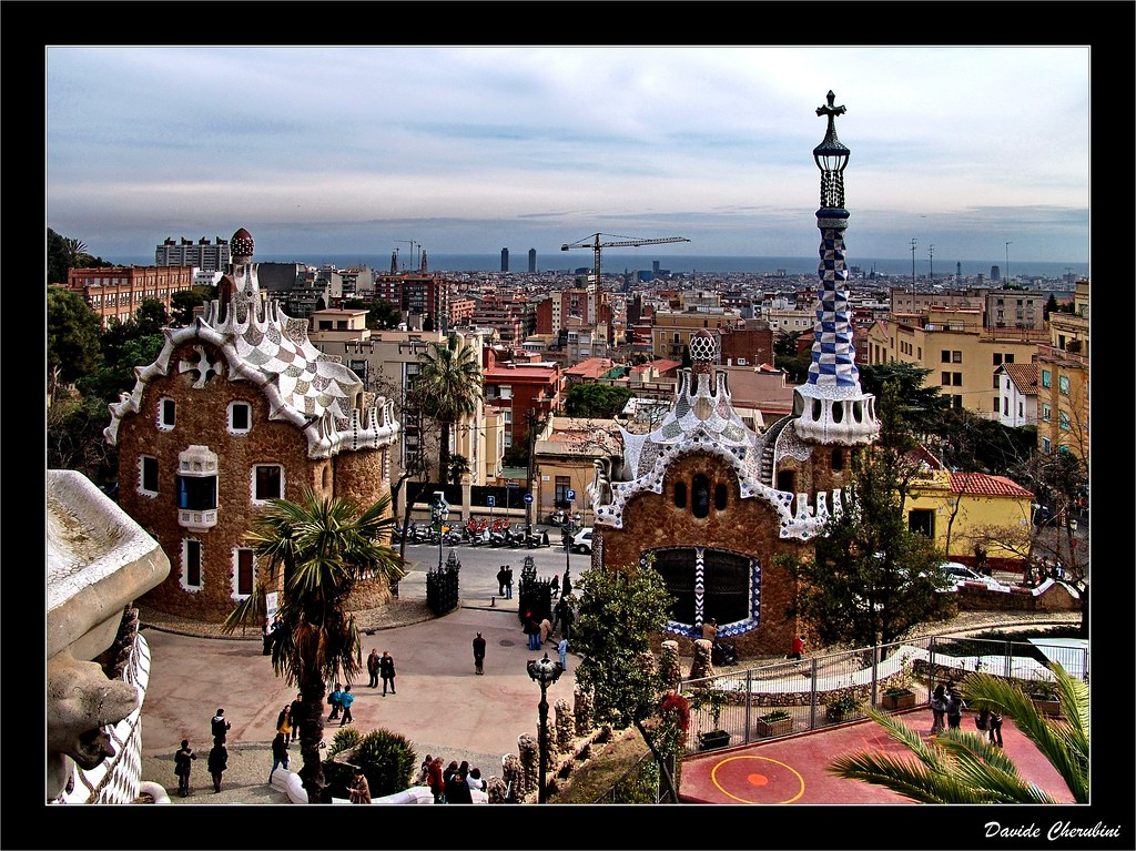 parc guell barcellona parco guell di antoni gaud my