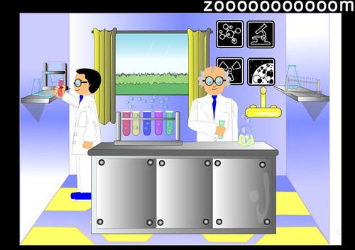 مختبر العلوم تصميم عملته لأحد البرمجيات التعليمية 2005