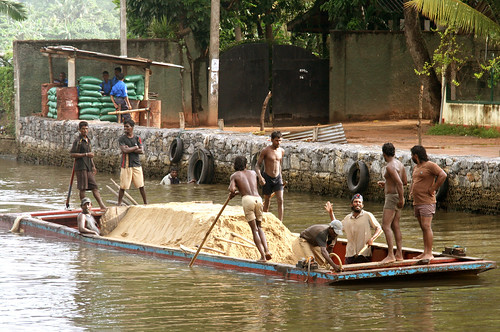 Hendala Sri Lanka  city photos gallery : Mining sand | by martien van asseldonk