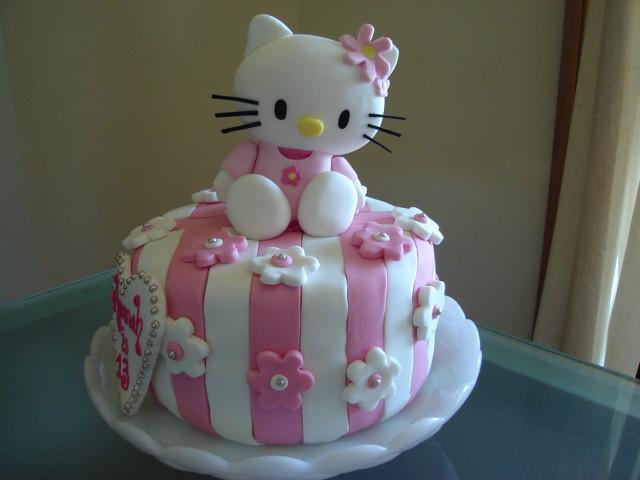 Hello Kitty Birthday Cake Julie Flickr