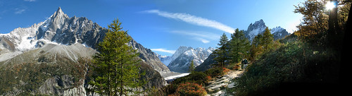 Montenvers Panorama from near Forbes Signal, Chamonix | by chaletlaforet