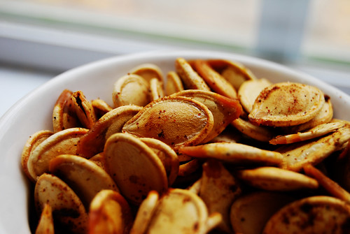 Toasted Pumpkin Seeds | by notes from the trenches