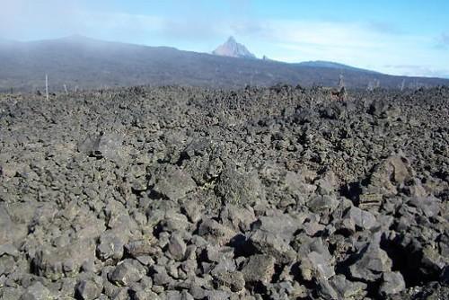 Lava Beds Near Sisters Oregon