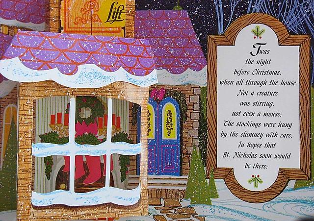 Night Before Christmas Vintage Pop up Book | chris | Flickr