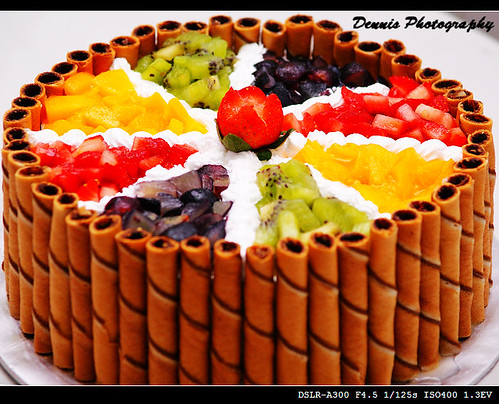 Fruit Chocolate Cake Images Kudoki for