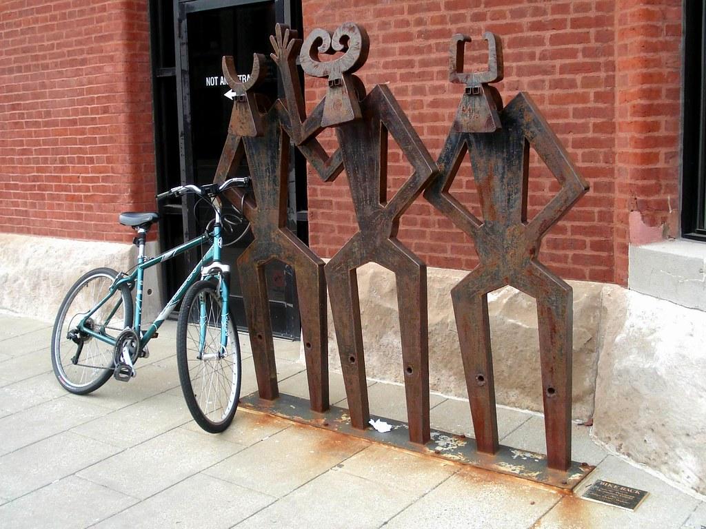 Bike rack | Louisville has 24 artistic bike racks in ...