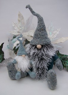 Teeny Tomte and Yultide Gnome | by bindi03