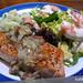 Seared Salmon Steak