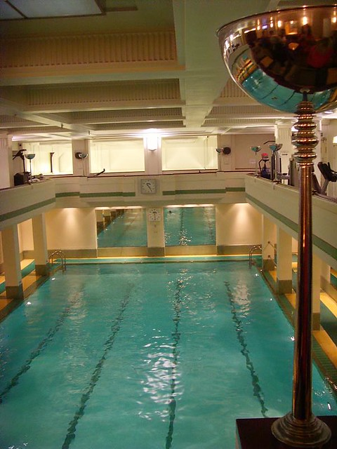 The Lansdowne Club Pool 1930s London Art Deco Interior