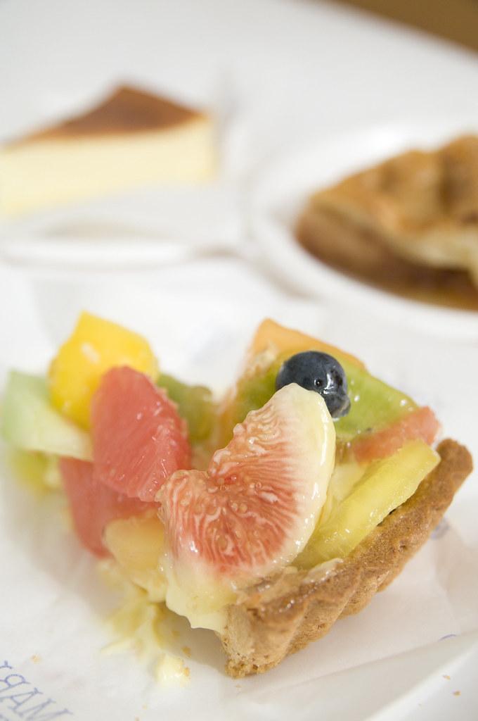 Fruit Tart With Cake Mix Crust