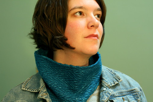 herringbone cowl | by lauren*o