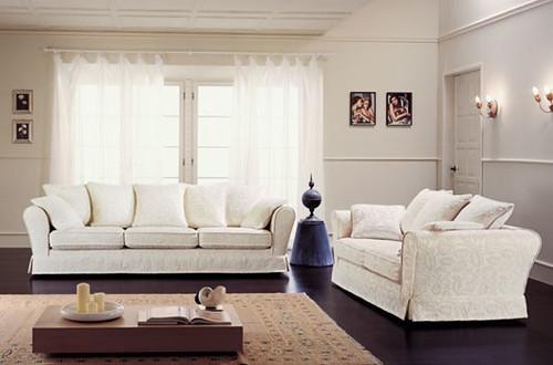 Salotto classico divani singoli e componibili con for Arredissima prezzi divani