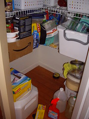 The Bottom of the Right Side Pantry - Before