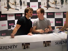 Nathan Fillion & Joss Whedon | by Hilary_JW