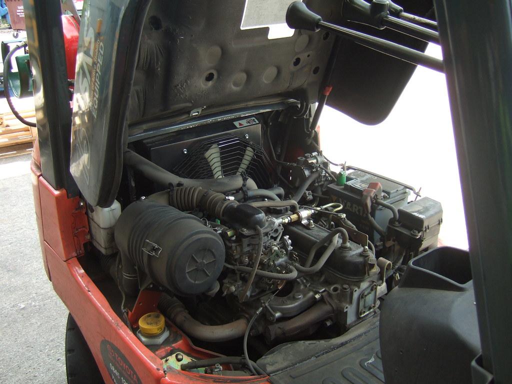 Toyota Sas 15 Forklift Engine Carl Spencer Flickr
