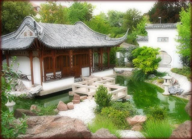 chinese garden garten der sch nen melodie stuttgart g. Black Bedroom Furniture Sets. Home Design Ideas