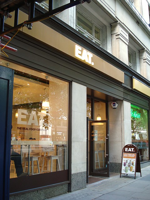 Eat, Kingsway, London ...