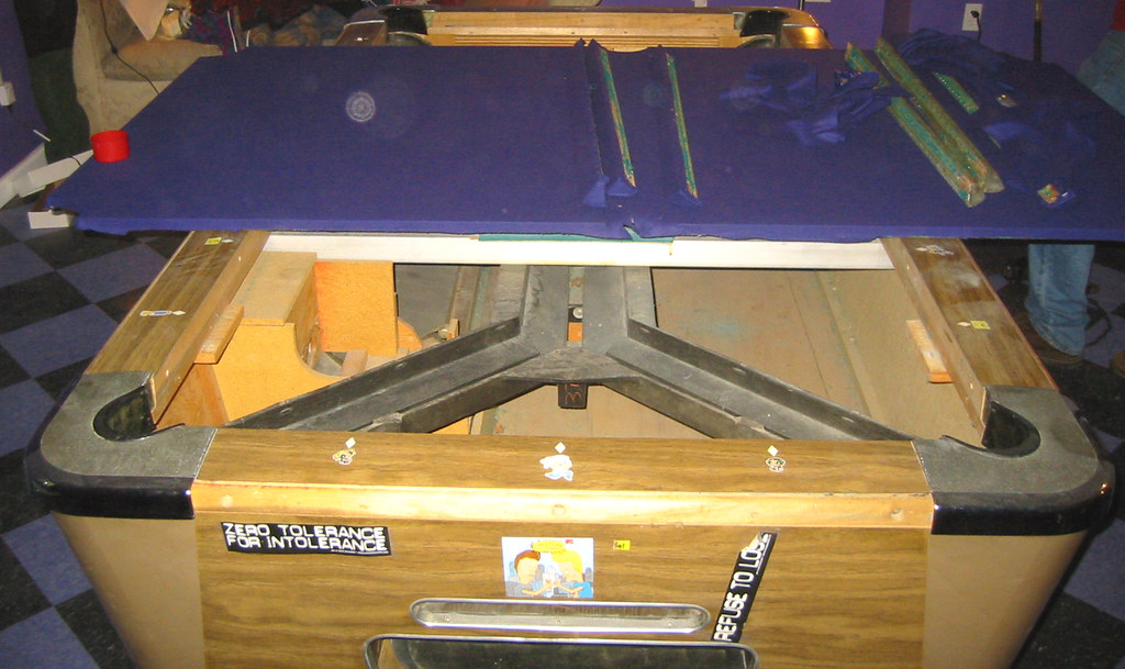 20080509 pool table 156 5636 refelting the slate flickr