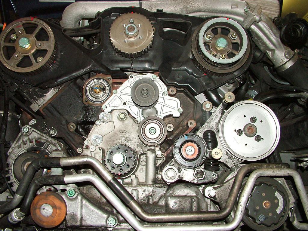 Audi A6 2 5 Tdi Water Pump Replacement Reg Mckenna