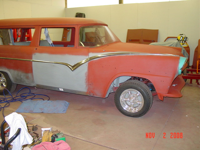 1955 ford station wagon rocker is on door is fit for 1955 ford 2 door wagon