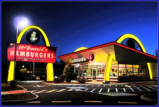 McDonalds Night Shot | by Tony Fischer Photography