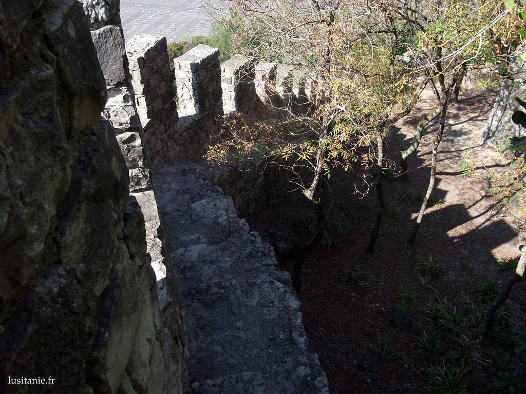 Il faut être un peu fou pour grimper le long des remparts pour faire une photo... :D