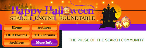 Halloween '09 at Search Engine Roundtable | by rustybrick