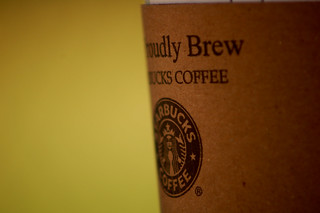 Starbucks, We proudly brew it | by theseanster93