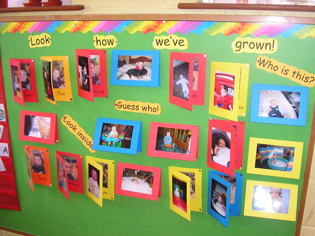 Baby Room Family Board Displays