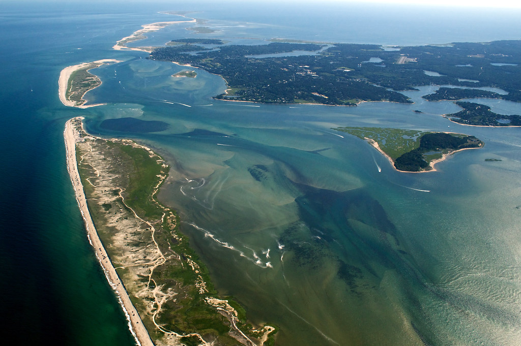 Cape Cod Aerial Pleasant Bay And Nauset Beach Chatham