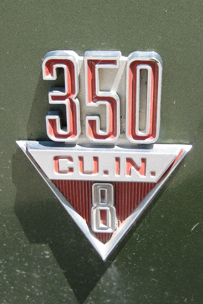 Pontiac 350 Emblem : Pontiac safari wagon emblem from my
