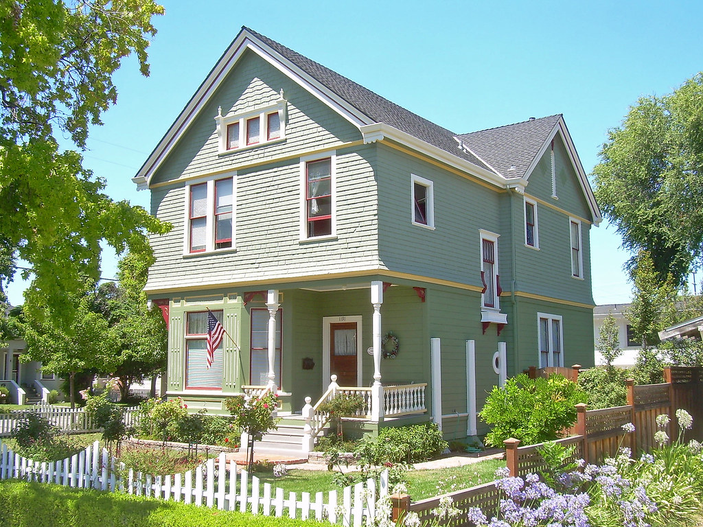 Victorian house santa clara california built about for Clara house