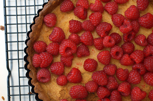 lemon raspberry tart | by sassyradish