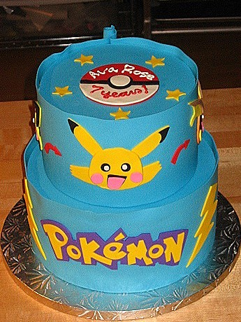 Pokemon Cake I Ve Never Heard Of These Characters Before