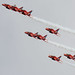 Red Arrows Display in Portsmouth - 13